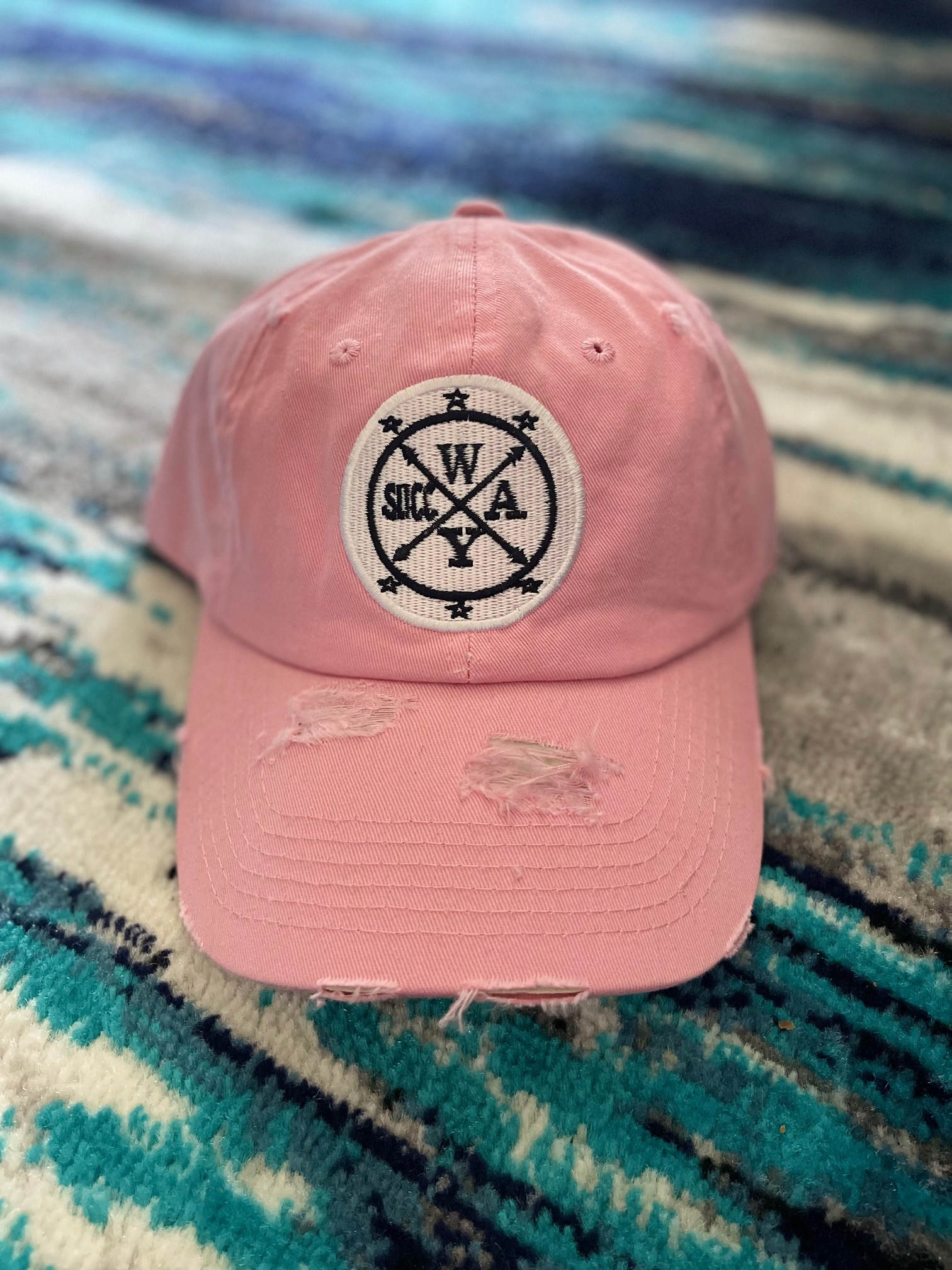 Slicc Way Distressed Dad Hats